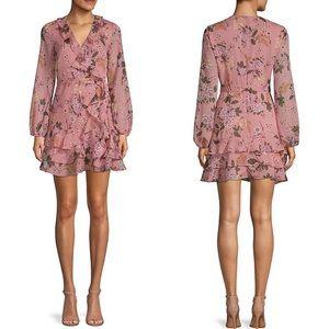 BARDOT | Frill Floral Mini Dress